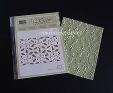 """NEW Stampin' Up """"Holly"""" Textured Embossing Folder"""