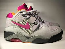 Nike Air Force 180 Premium Sz 11 2006 Barkley Pearl Grey Rave Pink