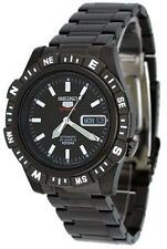 SEIKO SPORTS AUTOMATIC / HAND WINDING 100M BLACK WATCH SRP141 SRP141J1 JAPAN