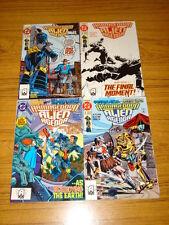 ARMAGEDDON ALIEN AGENDA #1-4 DC COMICS JURGENS 1991 (4)
