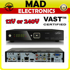 SatKing DVBS2-800CA VAST Satellite Receiver 12V or 240V Free to Air Digital TV