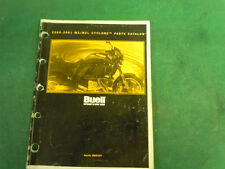 Buell M2 Cyclone Parts Manual 2001   99572-01Y