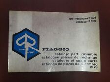 CATALOGO PARTI RICAMBIO ORIGINALE PIAGGIO APE VESPACAR P 401 VESPACAR P 350