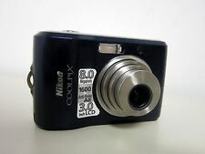 Nikon COOLPIX L18 8.0 MP Digital Camera - Blue Nikkor 3X Optical Zoom