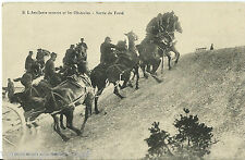 AK L Artillerie montée et les Obstacles - Sortie du Fossé, Carte Postale WK 1