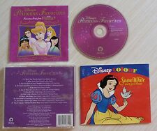 CD ALBUM BOF WALT DISNEY PRINCESS FAVORITES 12 TITRES 2001 + COLORIAGE RARE