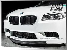 RK Type Carbon Fiber Front Bumper Add Lip For 2012-2016 BMW F10 M5 ONLY