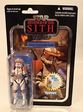 "Star Wars Vintage Collection ROTS Clone Commander Cody 3.75"" Figure VC19 MOC"