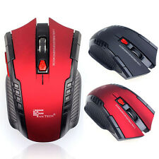 2.4Ghz Mini Portable USB Wireless 6 Keys Optical Gaming Mouse Mice For PC Laptop
