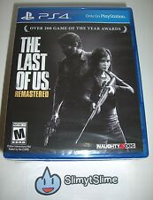 The Last of Us Remastered (Action Adventure; Sony PlayStation 4, 2014) BRAND NEW