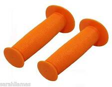 Bicycle Handle Bar Mushroom Grips Orange BMX Boys And Girls Bikes Cruiser 163164