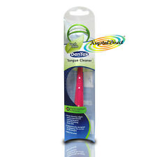 Dentek Tongue Mouth Cleaner Scraper Mint Fresh Tool Remove Bad Breath Bacteria