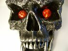 Morbius Wall Hanging - Fanged Skull Vampire with Red Eyes