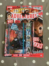 DOCTOR WHO ADVENTURES MAGAZINE Issue 96 With Free Gifts - Free Postage