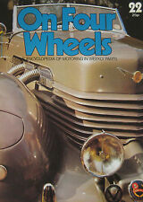 On Four Wheels magazine Issue 22 featuring Connaught, Cord, Cooper cutaway