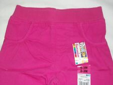 Pink Garanimals Faux Pocket Pants 0-3 Months Infant Girls Baby NB New Born Hot