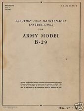Boeing B-29 Superfortress Historic Maintenance Service Manual Rare 1940's WW2
