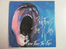 "PINK FLOYD MUSIC FROM FILM PROMO 7"" 45 SONGS FROM WALL FINAL CUT LP's PIC SLEEVE"