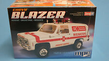 MPC 1/25 Chevy Blazer Rescue Snap-it SNAP Together Plastic MPC797