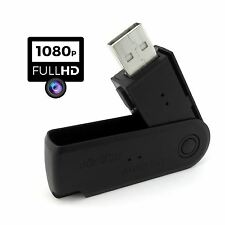 Full HD 1080P Spy Camera Covert USB Memory Stick Video Photo Recorder Hidden DVR
