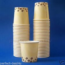 Paper Cups Coffee Drinking Disposable Party Office Supplies 4oz 120ml 50pcs-