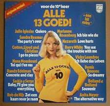LP Various ‎– Alle 13 Goed! Voor De 10e Keer Sexy Girl Cheesecake Cover Nm 1976