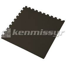 16 Square Feet Classroom Gym 24 inch BLACK Puzzle Mats EVA FOAM TOP SAFETY RATED