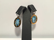 New - Pendientes EarRings - Steel & Topaz - Acero y Topacio