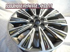 "LINCOLN MKZ 19"" FACTORY OEM RIM WHEEL 2015 2016 WITH CHROME INSERTS 10023"