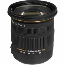 Sigma 17-50mm F/2.8 EX DC OS HSM Japan Make Lens  For Nikon DSLR Cameras