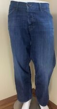 + Men's HUDSON Dark Wash Classic Straight Leg Jeans 40 X 27 VGC ~1626