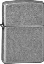 "Zippo ""Antique Silver Plated"" Armor Lighter, Full Size,  28973"