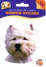 West Highland White Terrier - Window Sticker - 042