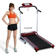 Modern Red Folding Electric Treadmill Jogging Exercise Running Machine Newest