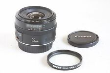 Canon EF 35mm f/2 Lens EXCELLENT EOS DIGITAL Camera + BONUS 52mm UV FILTER!