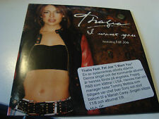 RAR SINGLE CD. THALIA. I WANT YOU. FAT JOE. ED. CARTÓN. WHIT STICKER INFO PROMO