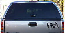 Big Cat Hunter Decal ideal For Nash daiwa shakespear Tackle Box Top Box Vans etc