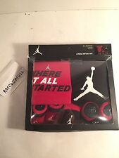 NIKE JORDAN 5 PIECE INFANT SET IBSP50355 BOYS GIRLS NEWBORN CLOTHES GIFT SET