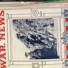 m1c ephemera ww1 original 1916 picture sentry duty canadian front line trench