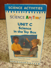 FISHING WITH A MAGNET kids Science Activities VHS Science in Toy Box NWT Unit C