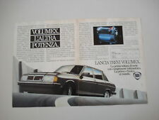 advertising Pubblicità 1982 LANCIA TREVI VOLUMEX VX