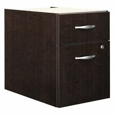 Bush Corsa Series 2-Drawer Lateral Wood File Storage Cabinet, Mocha Cherry