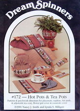 Dream SPinners Hot pad tea cozy Patern quilt quilted casserole cover