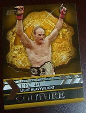 Randy Couture 2011 Topps Title Shot Championship Chronology UFC Card #CC-23 49