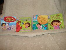Dora's Little Library Set Books by Phoebe Beinstein & Lauryn Silverhardt 2009 4""