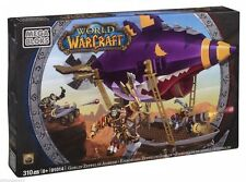 Mega Bloks World of Warcraft – Goblin Zeppelin Ambush 91014 – 310 Pcs New