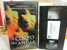 IL CORPO DELL'ANIMA ( SALVATORE PISCITELLI ) # RARA VHS #