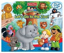 Fisher Price Let's Go to the Zoo Lift the Flap (A-Lift-the-Flap Play Book), Read