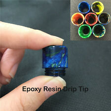 1PC Epoxy Resin Wide Bore Drip Tip Cap Mouthpiece For Smok TFV8 Tank TFV12