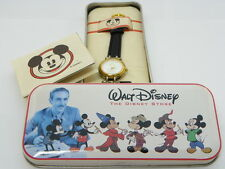 "MICKEY MOUSE,Classic White Dial,,""Rare Unique Lug's"" KIDS/LADIES WATCH,CP1,L@@K!"